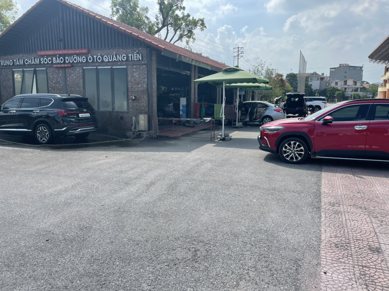Nội thất ô tô Quảng Tiến