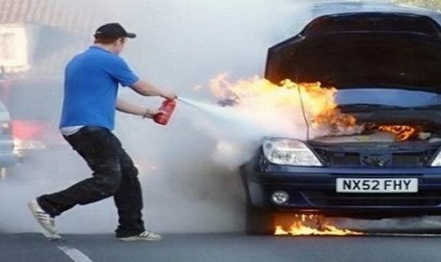 Chữa cháy khẩn cấp bằng bình cứu hỏa