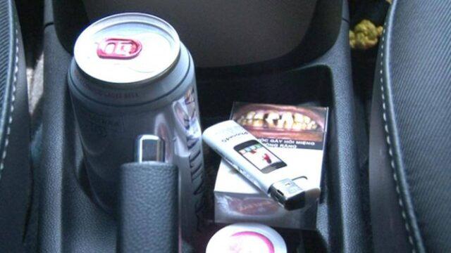 Tránh những đồ dễ gây cháy nổ trên xe