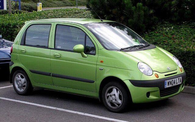 ô tô cũ giá 100 triệu Daewoo Matiz
