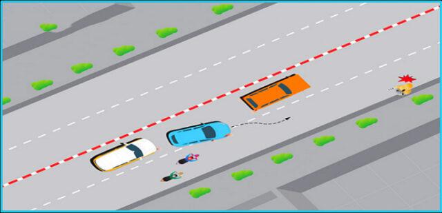 cách căn đường khi lái xe ô tô