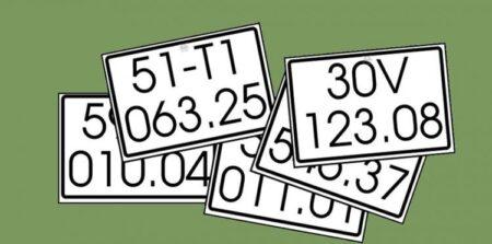 Cách chọn biển số xe đẹp hợp tuổi, ý nghĩa biển số xe 2020
