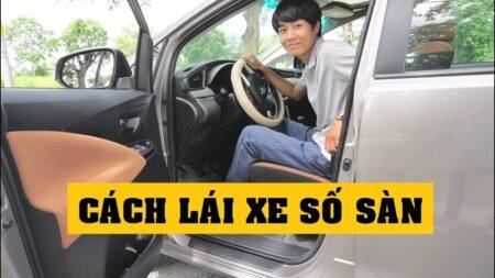 Hướng dẫn lái xe số sàn cơ bản cho người mới học