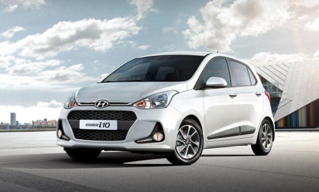 Ô tô 4, 5 chỗ giá rẻ Hyundai Grand i10
