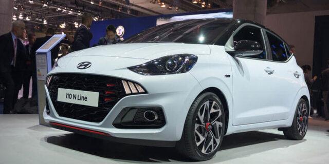 Ngoại thất của Hyundai i10