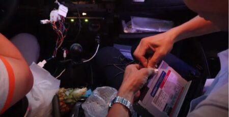 Quá trình lắp đặt DVD Androi Zestech Z500 cho Fortuner