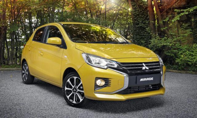 Ô tô 4,5 chỗ giá rẻ Mitsubishi Mirage