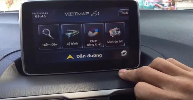 Phần mềm dẫn đường cho ô tô