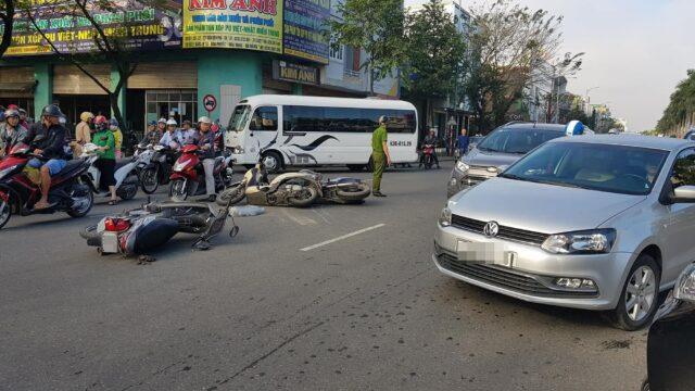 Tai nạn đáng tiếc xảy ra khi xe vượt quá tốc độ