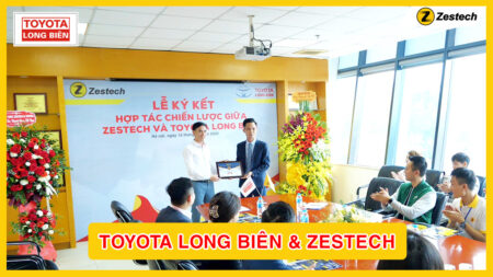Lễ kí kết hợp tác chiến lược giữa TOYOTA và ZESTECH
