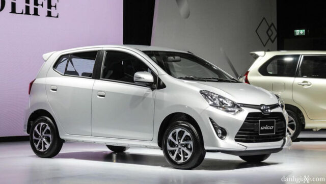 Ô tô 4, 5 chỗ giá rẻ Toyota Wigo