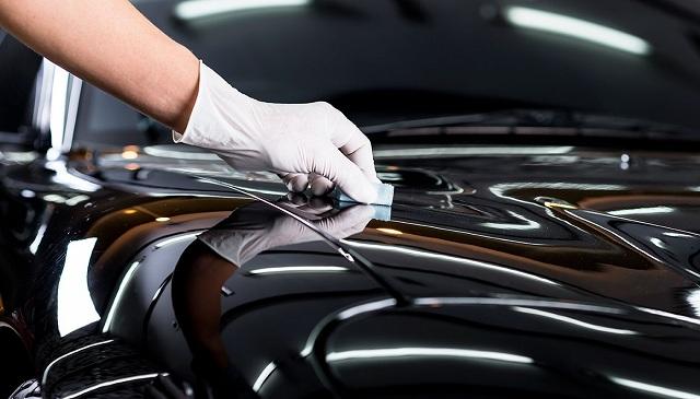 Phủ nano xe hơi