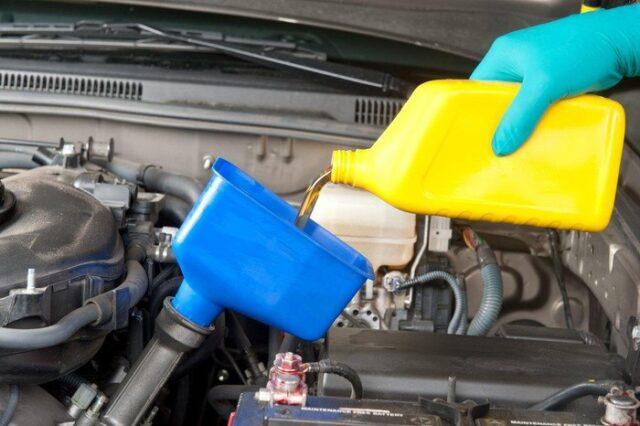 Bình nhiên liệu ô tô