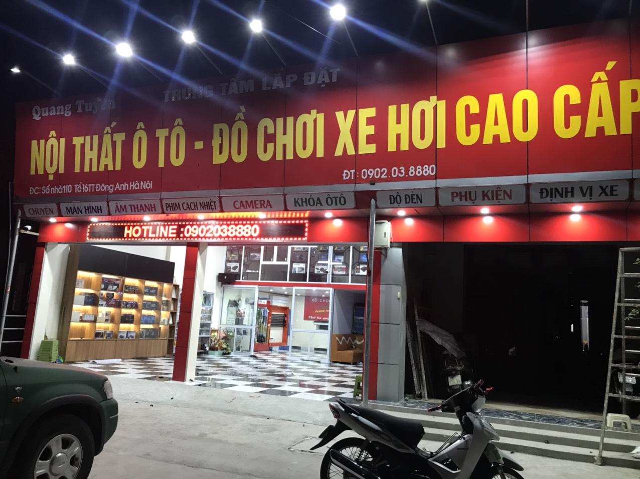 Trung tâm nội thất ô tô – đồ chơi xe hơi Quang Tuyên