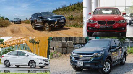 Phân hạng các dòng xe ô tô mới nhất năm 2021