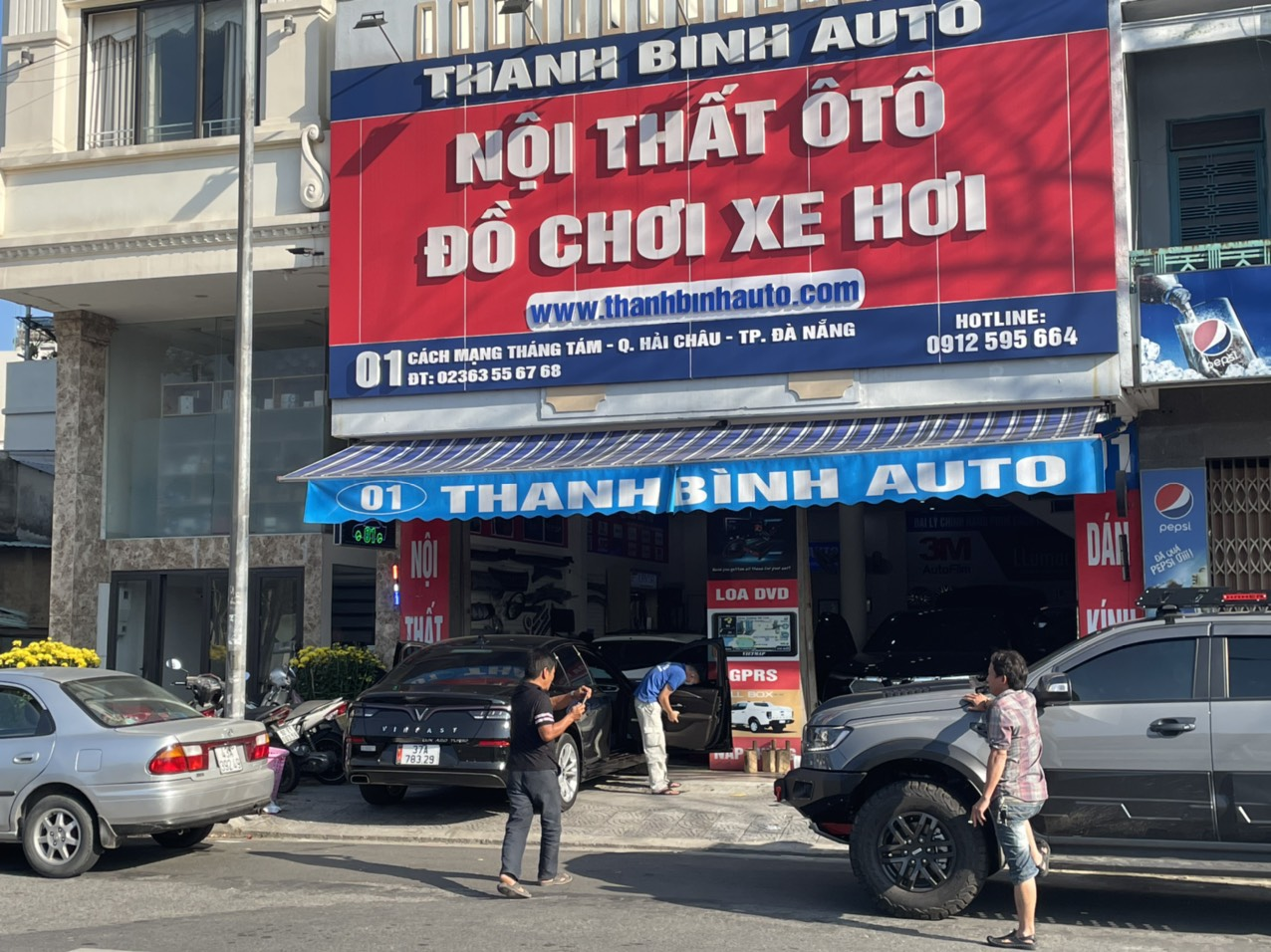 Thanhbinhauto Đà Nẵng – Cơ sở 3