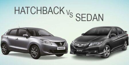 Nên lựa chọn xe ô tô sedan hay hatchback khi đi trong nội thành
