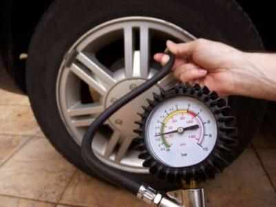 Thế nào là bơm lốp xe ô tô chuẩn áp suất?