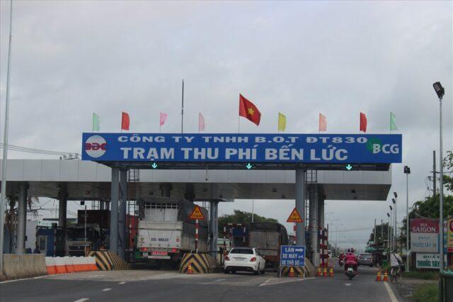 trạm thu phí đường bộ tại Việt Nam