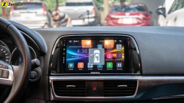 Màn hình android cho xe hơi