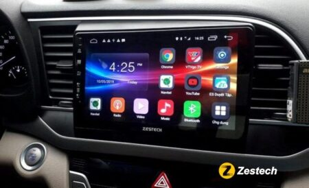Màn hình dvd Zestech – Thiết bị nội thất ô tô tích hợp nhiều công nghệ