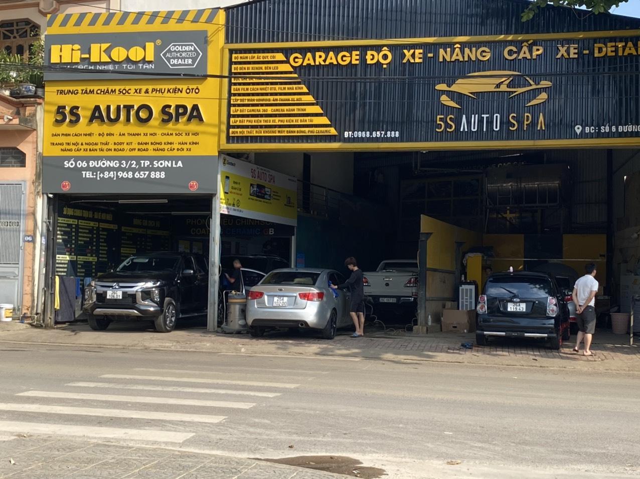 Nội thất 5S Auto Spa