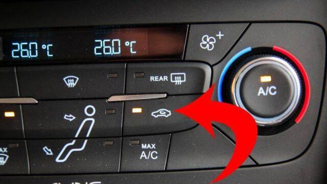 chế độ lấy gió trên ô tô