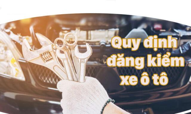 thủ tục đăng kiểm xe ô tô