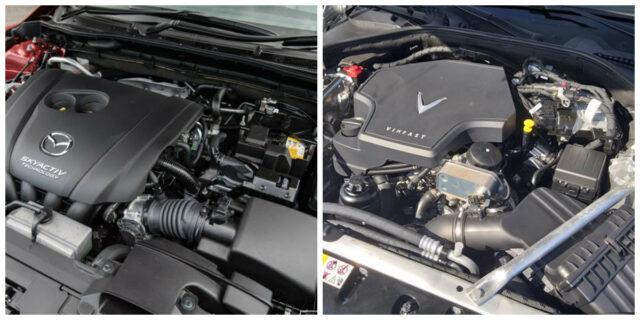 VinFast Lux A2.0 và Mazda6