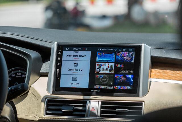 màn hình android cho xế yêu