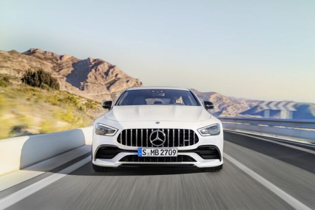 Mercedes-AMG GT 53 4MATIC+ 4-Türer CoupéMercedes-AMG GT 53 4MATIC+ 4-Door Coupé