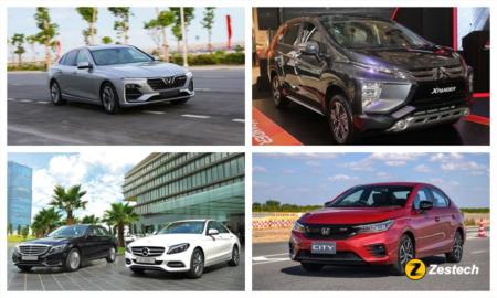 Tổng hợp các mẫu xe được hưởng ưu đãi phí trước bạ đầu năm 2021