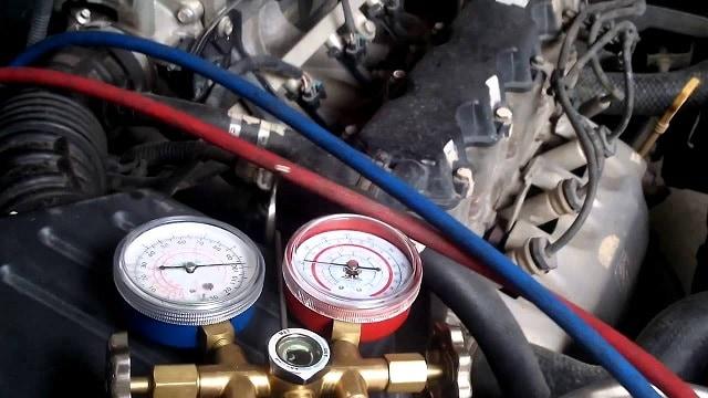 Gas điều hòa ô tô
