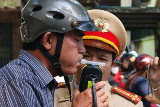 Mức phạt khi vi phạm luật an toàn giao thông