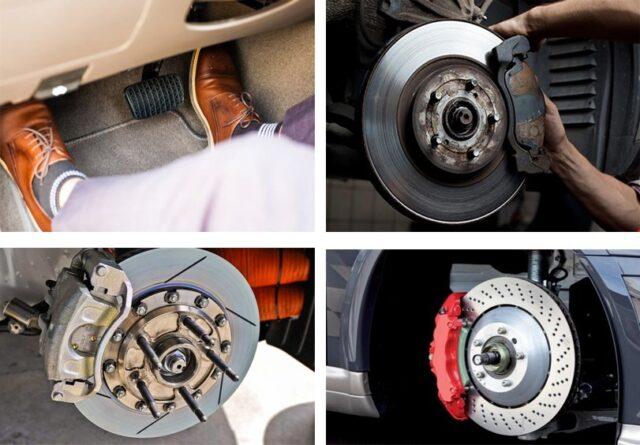 Phanh đĩa ô tô