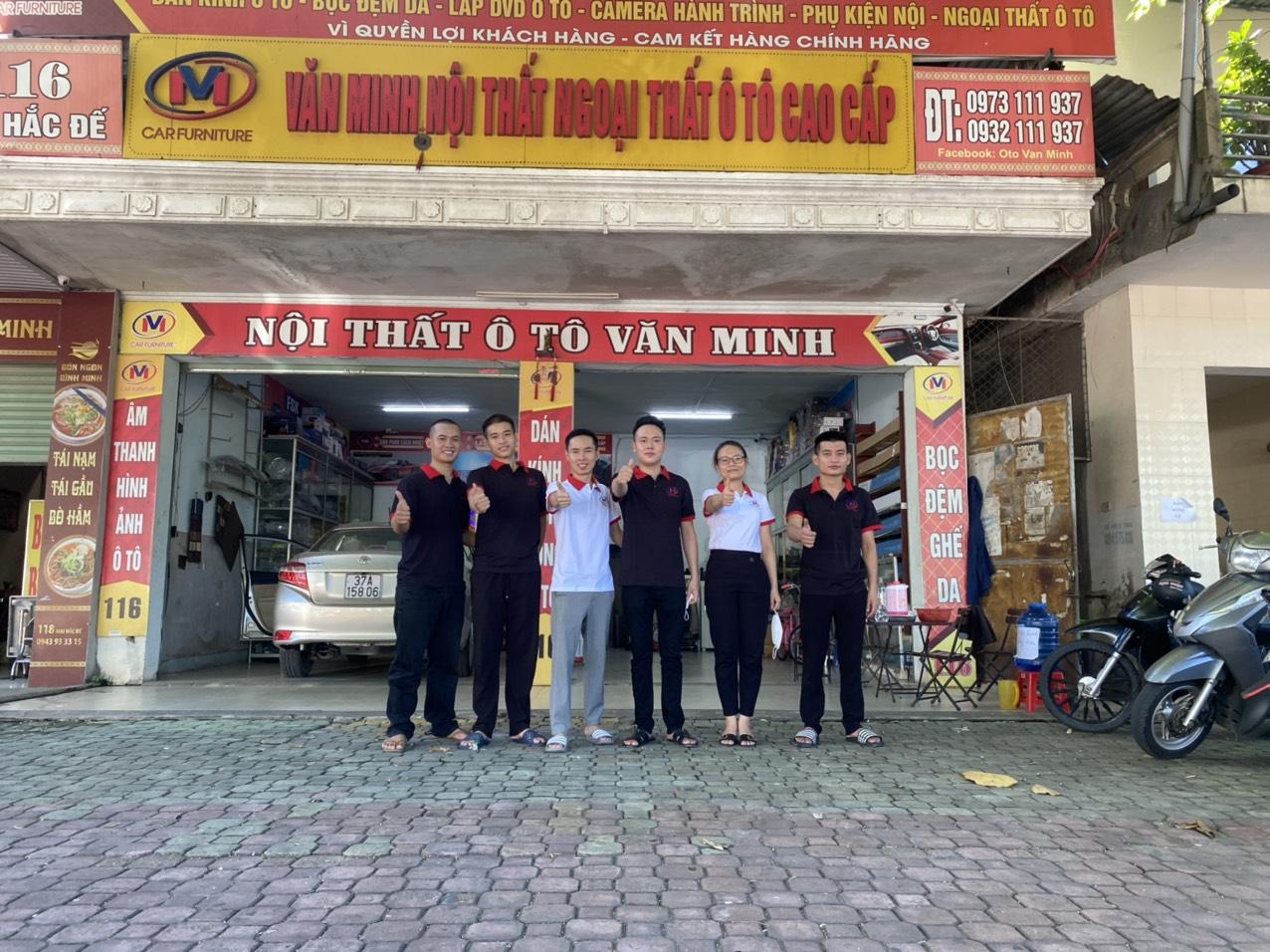 Nội thất ô tô Văn Minh