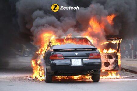 Nguyên nhân gây cháy nổ ô tô thường gặp nhất