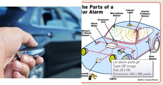 Hệ thống báo động xe ô tô