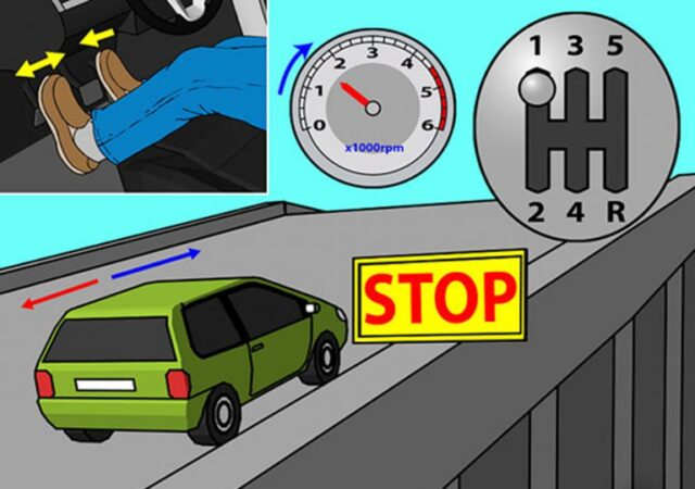 cách đề pa ô tô
