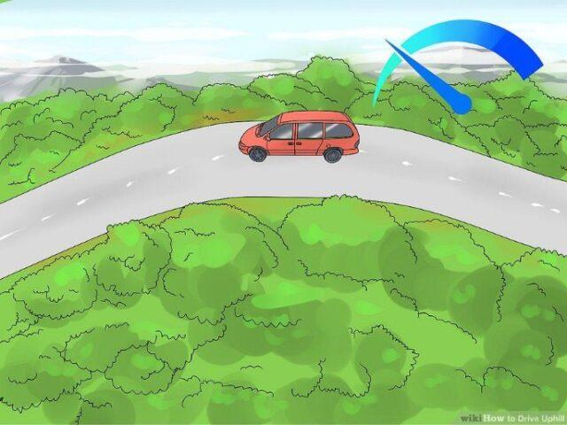 lái xe ô tô an toàn khi di chuyển đường đồi núi