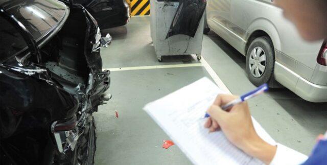 quy trình giám định bồi thường bảo hiểm của ô tô