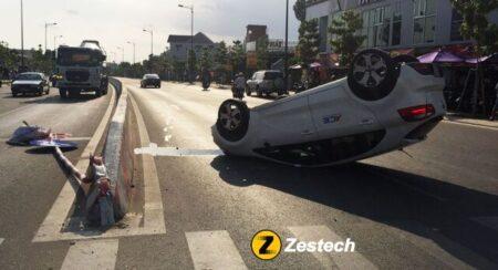 Nguyên nhân và cách phòng tránh xe ô tô bị lật