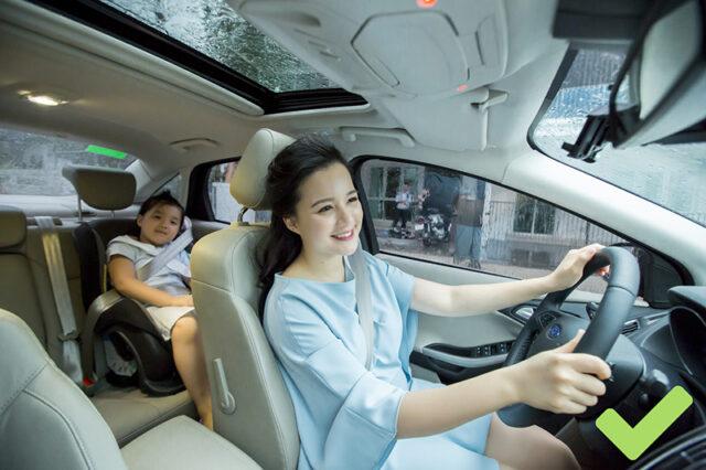 lưu ý người nhỏ con nên biết để lái xe an toàn