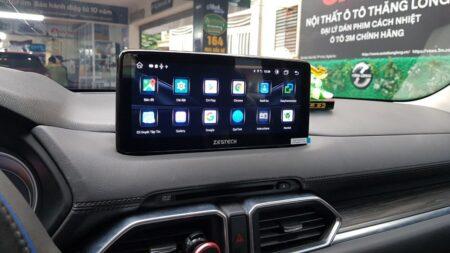 Lắp đặt màn hình cho xe Mazda CX8 2021