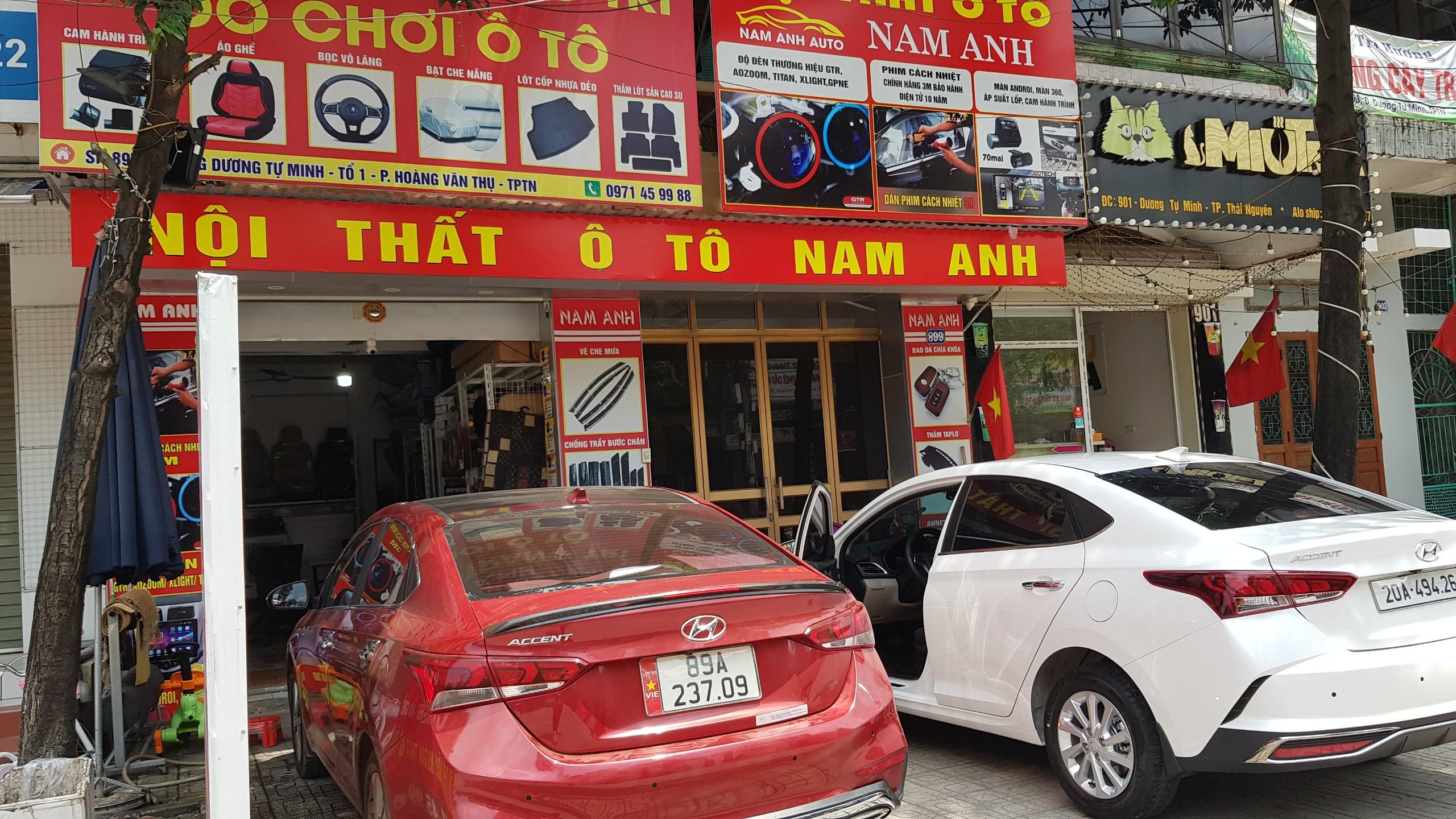 Nội thất ô tô Nam Anh