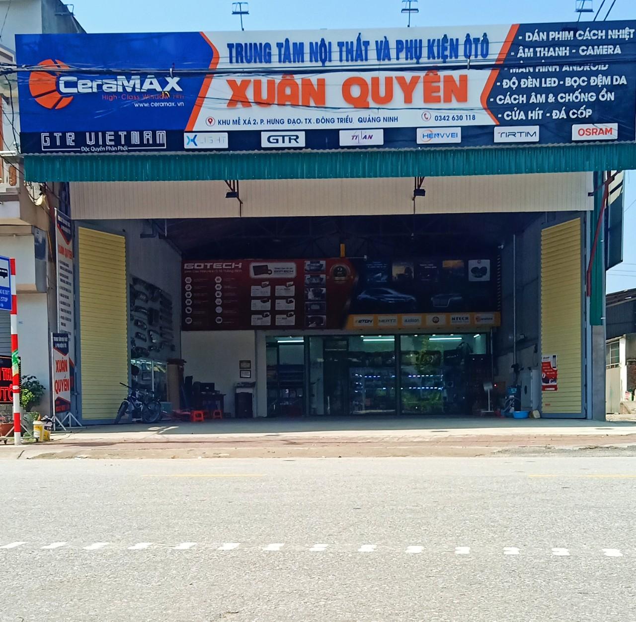 Trung tâm nội thất ô tô Xuân Quyền